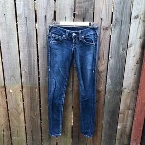 True Religion Women's Blue Skinny Jeans